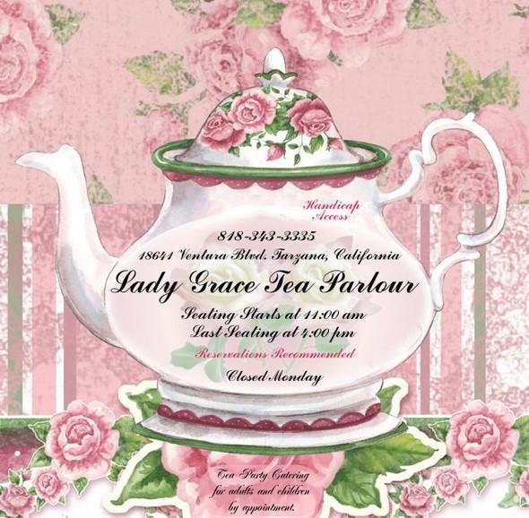 Pics Photos - You Are Invited High Tea Invitations
